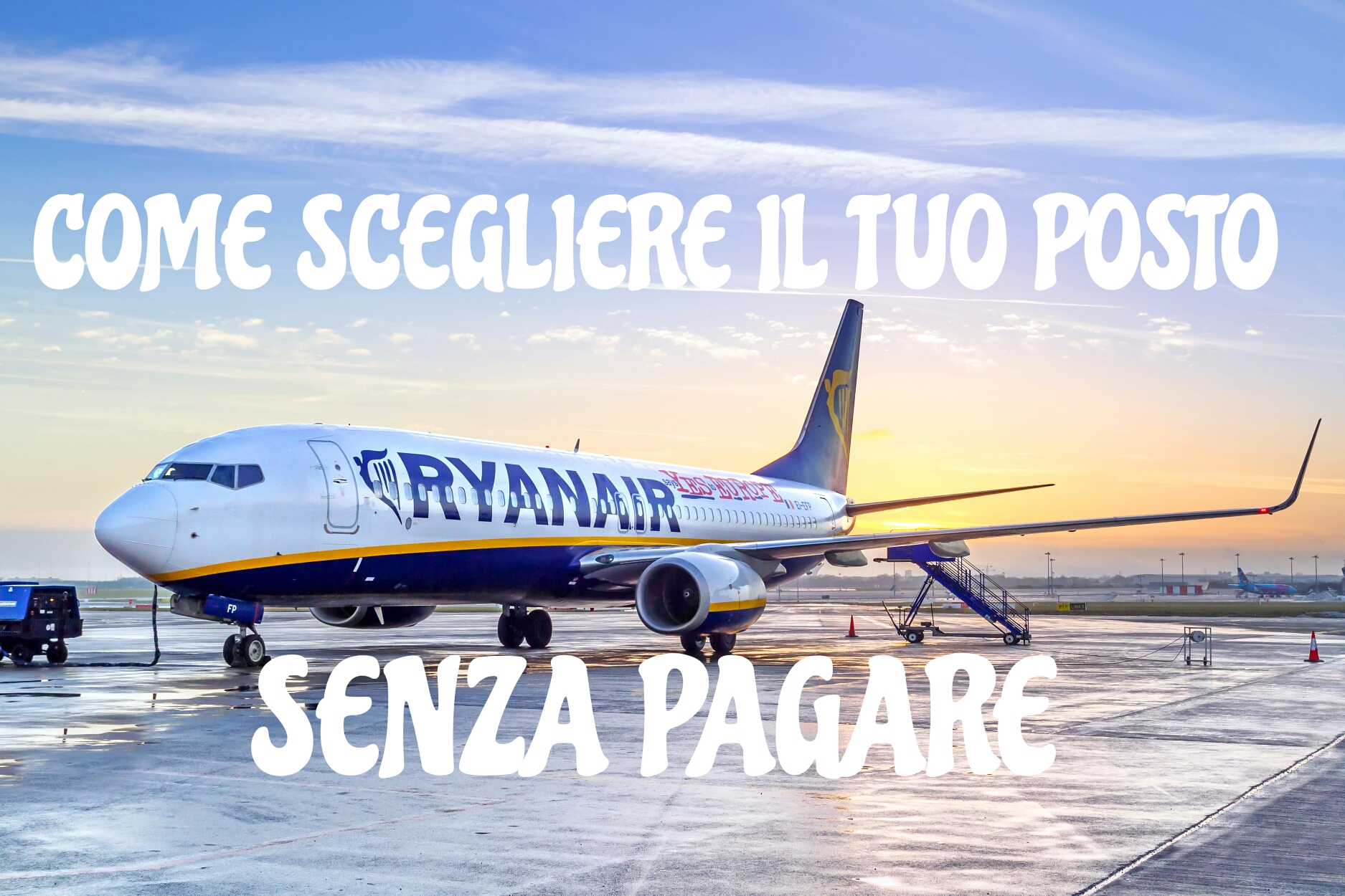 posto Ryanair senza pagare