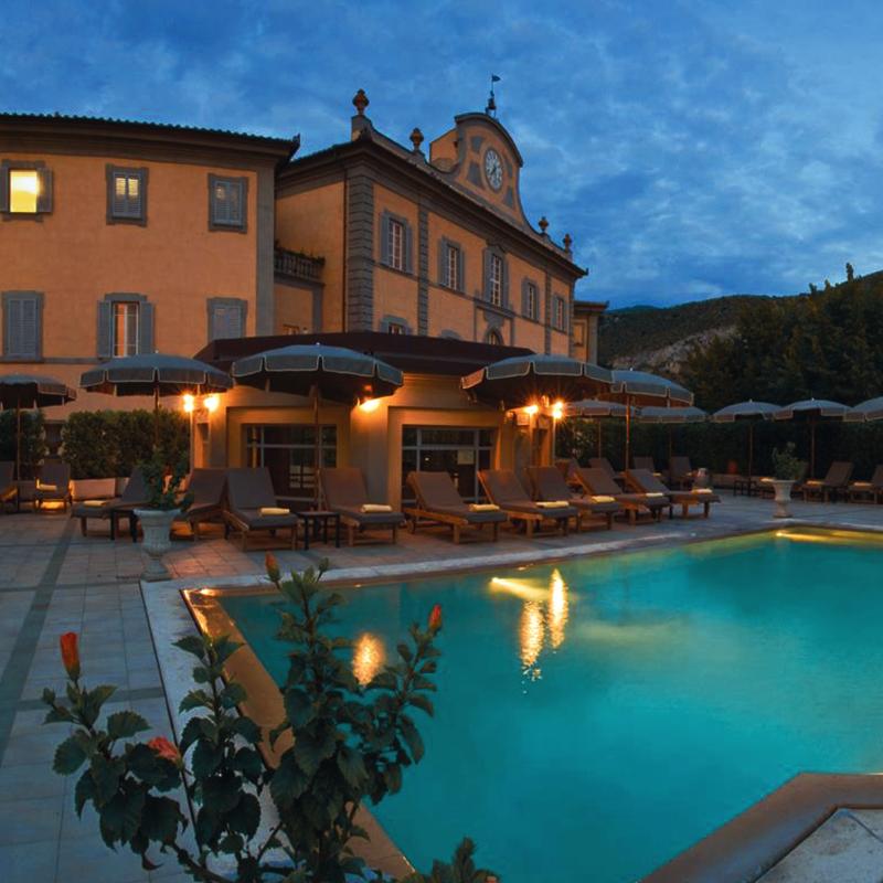 Resort Bagni di Pisa a San Giuliano Terme -