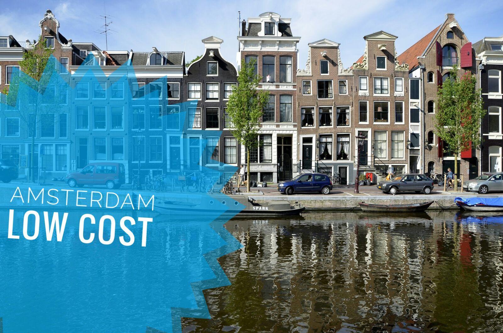 Amsterdam low cost guida completa su come risparmiare for Voli low cost per amsterdam